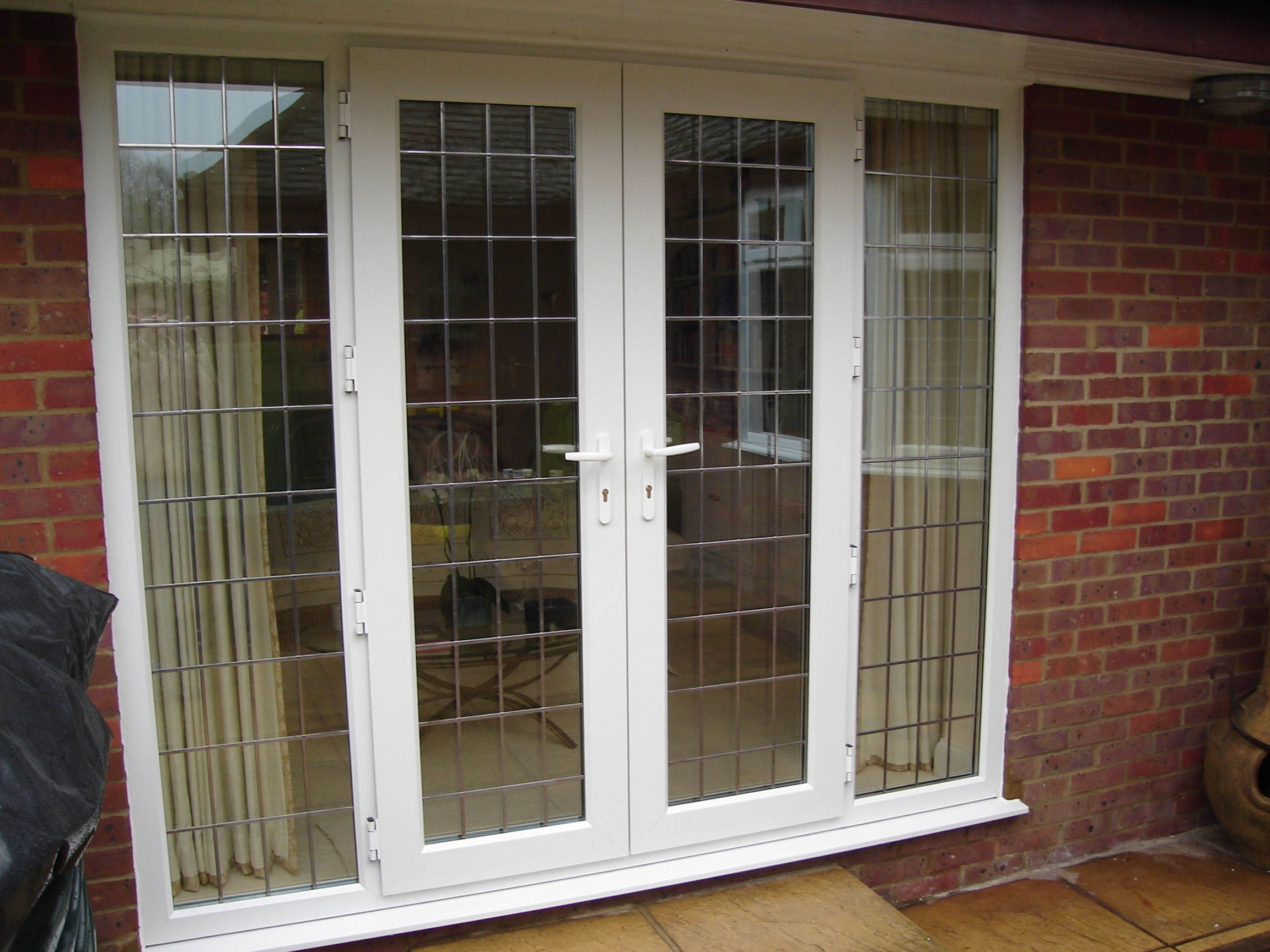100 upvc french doors french doors upvc u0026 aluminium st for Double glazed patio doors sale